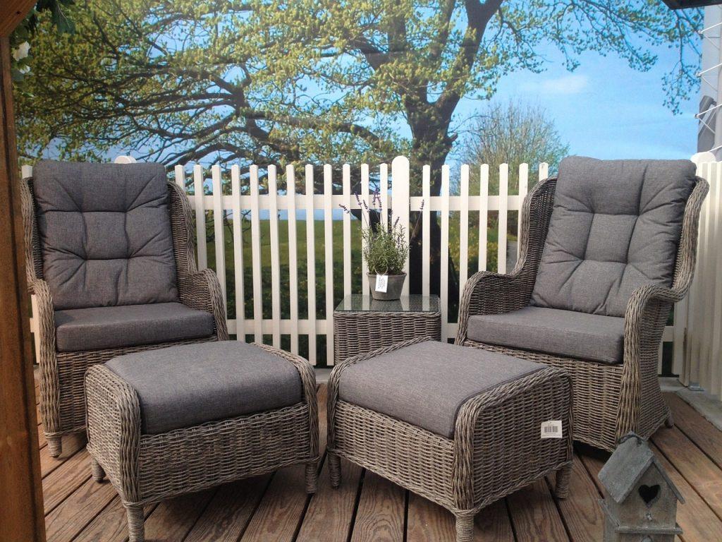 muebles por la terraza